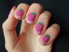 Nails by Arvonka: Raspberry Nail Art Tutorial