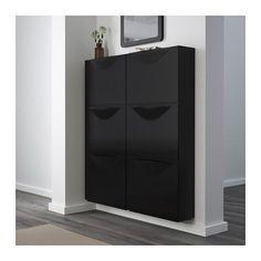 TRONES Zapatero/almacenaje - negro - IKEA