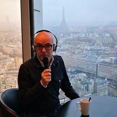 Eccomi qui #onair  da Parigi #tutticonnessi  con la #basil  su #radionumberone @huaweimobileit
