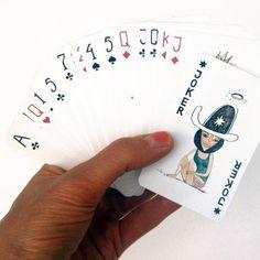 Spillekort fra Bob Noon - Kan købes Online hos Decorateshop.dk