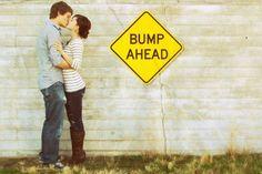 announce pregnancy pictures | bump ahead pregnancy announcement