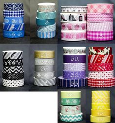 I just snagged a few of these cute washi tape rolls to make a cothespin wreath. Can't wait for them to come in the mail. Such a great price. Only $1.50 each!
