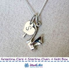 shoe pendant, woman shoe pendant, swarovski birthstone, sterling silver shoe charm,high heel necklace, lucky necklace, vintage shoe pendant, lady fashion charm, high heels, high heeled, fashion jewelry  ►►► SPECIFICATIONS ► ★ material: Sterling Silver ★ stones: swarovski birthstone ★ Size: 16x16mm ★ pendant comes in designers handmade box, so its a complete gift. ★ option-1: Sterling Silver Chain (Lengths: 18(45cm), 20(50cm), 22(55cm) or 24(60cm) ★ option-2: Polished Silver Initial pendant…