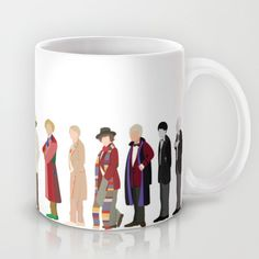Buy Doctor Who? Mug by The Joyful Fox. Worldwide shipping available at Society6.com. Just one of millions of high quality products available.