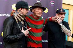 Benji Madden Photos: Celebrities Attend Halloween Party At Luna Park