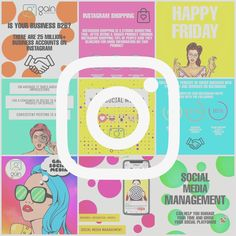 Eye catching and colourful but with a message....how to create the perfect social media post. Social Media, Messages, Eye, Marketing, Create, Business, Instagram, Store