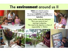 The environment around us II Preschool Education, Early Education, Childhood Education, Reggio Classroom, Classroom Rules, Learning Stories Examples, Emergent Curriculum, Outdoor Learning, Early Learning