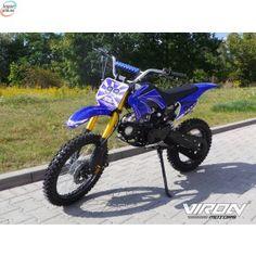 Crosser 125cc Med Sportsfilter Og Effektpotte - Blå