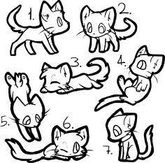 1000 Images About Cat Line Art On Pinterest DeviantART