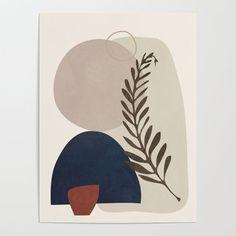 Modern Art Prints, Framed Art Prints, Nordic Art, Cute Patterns Wallpaper, Minimalist Art, Aesthetic Art, Art Projects, Illustration Art, Creations