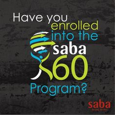 How to enroll in the Saba 60 Program..... I'm starting mine January 5, 2015 :)  60 Days To A New You!  Chance to WIN $2,500!  Just click this pic to find out more and enroll today!