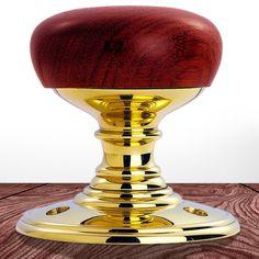 Delamain DK32WWPB Wooden Mortice Knob Handles. #woodenmorticedoorhandle #woodendoorknob #woodenandbrassdoorknob