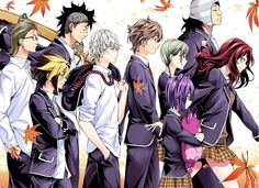 Shokugeki no Soma || Elite Ten members