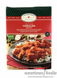 Vindaloo Archer Farms Meal Kit - Review