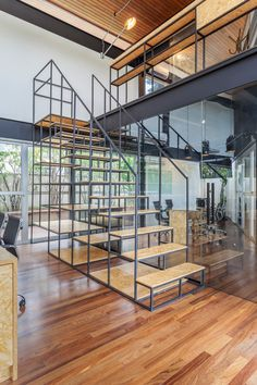 A Brazilian Film Company with New Stripped Down Digs - Design Milk
