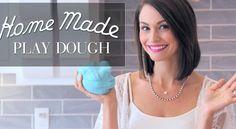 Homemade DIY no cook play dough!