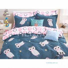 Детский полуторный комплект постельного белья Совушки купить в Украине