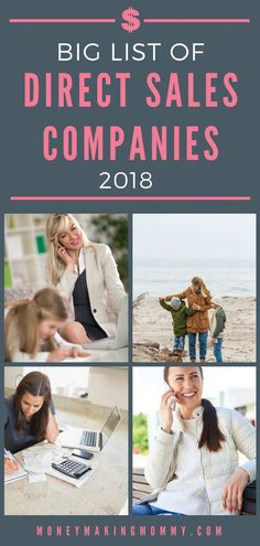 Best direct sales companies for moms
