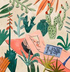 illustration by Dutch artist Bodil Jane Art And Illustration, Illustrations Posters, Magazine Illustration, Design Illustrations, Creative Illustration, Character Illustration, Art Inspo, Kunst Inspo, Series Poster