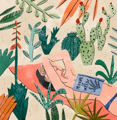 Bodil Jane's illustrations: ornate, exotic and really very lovely.