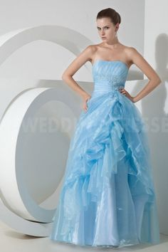 Satin Strapless Classic Prom Dresses - Order Link: http://www.theweddingdresses.com/satin-strapless-classic-prom-dresses-twdn4772.html - Embellishments: Beading; Length: Floor Length; Fabric: Satin; Waist: Natural - Price: 180.9649USD