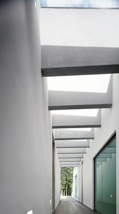 Hallway2 Contemporary One Level Family House By Stephenson ISA Studio
