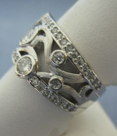 CAD Designed Ring. Fully Custom Made Ring.  Jensen Jewelers of Toledo