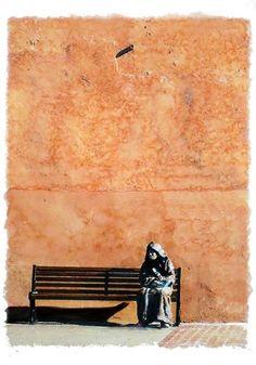 """Saatchi Art Artist Kunstbetrieb Alujevic; Painting, """"Sujira"""" #art"""