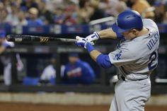 Chase Utley respondió con 2 jonrones y 5 impulsadas intento de pelotazo ante Mets.