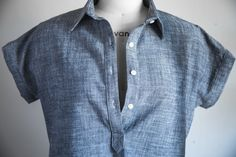 Tutorial: Sewing a Tunic or Popover Placket - https://sewing4free.com/sewing-a-tunic-popover-placket/