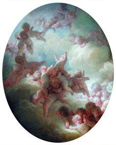 Essaim d'Amours, Jean-Honoré Fragonard