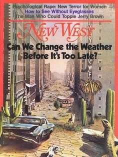 New West, magazine cover, 1970s