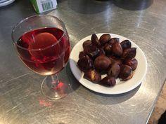 #roasted chestnut# castanhas#assadas# #restaurante último porto#