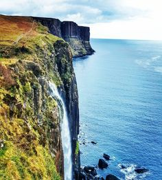 The Scottish Highlands are absolutely magical. Scottish Highlands, Waterfall, Europe, Rock, Outdoor, Outdoors, Stone, Waterfalls, Rock Music