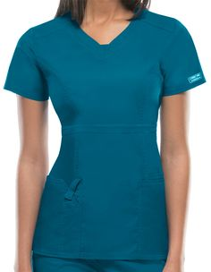 Try out turquoise scrubs today! Scrubs and jackets available in many colors available at Pulse Uniform Satisfaction guaranteed at unbeatable prices! Cute Nursing Scrubs, Stylish Scrubs, Scrubs Uniform, Work Uniforms, Womens Scrubs, Medical Scrubs, Mom Dress, Edgy Look, Professional Outfits