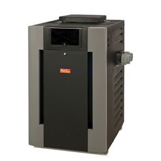 Tip: When choosing a pool heater, look for a unit that is engineered for wind-resistance. Also look for a low profile design, which will allow it to draft naturally in outdoor installations. Check out Raypack. http://www.progas.ca/products/raypak-pool-heater/
