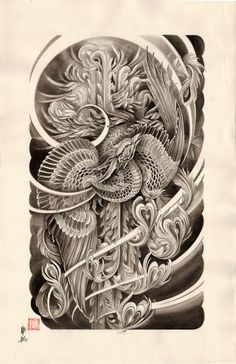 hou-ou tattoo - Google Search