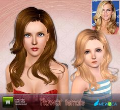 """""""Flower"""" by Newsea.  Subscriber only.  Female for all ages."""