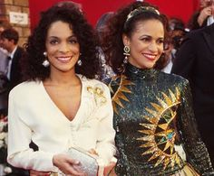 Jasmine Guy and Debbie Allen.