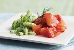 Salmon Two Ways: Pan-Seared & Aquavit-Cured - Oceania Cruises Recipes