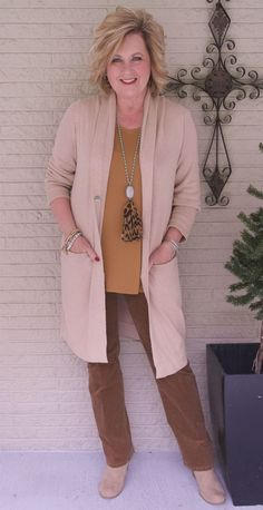 50 IS NOT OLD | CORDUROY FOR FALL COMFORT