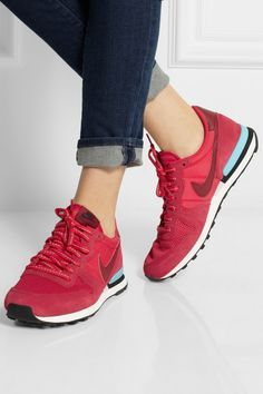 Burgundy Belmont Ivy Internationalist Trainers - Google Search