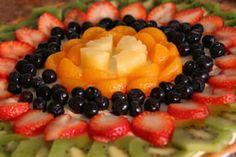 Fruit pizza recipe.