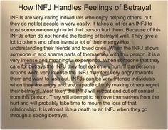 INFJ betrayal is like a person committing suicide & putting themselves & others mindlessly at risk. Intj And Infj, Infj Mbti, Infj Type, Infj Traits, Myers Briggs Personality Types, Infj Personality, Personality Psychology, Psychology Quotes, Salud Natural