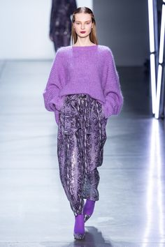 Sally LaPointe Fall 2019 Ready-to-Wear collection, runway looks, beauty, models, and reviews.