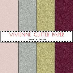 Glitter Digital Pattern Background Texture Overlay - Instant Download - Vivienne Glitter