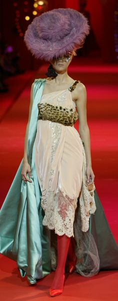 ~Christian Lacroix Haute Couture Autumn 2002  | The House of Beccaria#