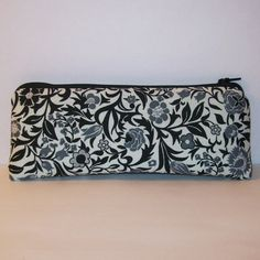 Pipe Pouch Pipe Case Glass Pipe Bag Floral Pouch by PouchAPalooza.com