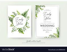 Printable Invitation Palm Leaf Invitation Digital