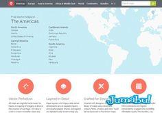 Mapas de Todo el Mundo en Vectores y Gratis | Jumabu! Design Tools - Vectorizados - Iconos - Vectores - Texturas